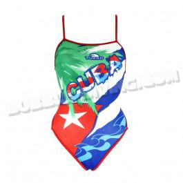 Maillot Femme Bretelles Fines Cuba
