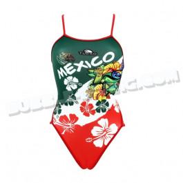 Maillot Femme Bretelles Fines Mexico