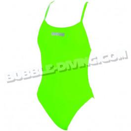 Maillot 1 pièce Mast High femme Vert Energy Green