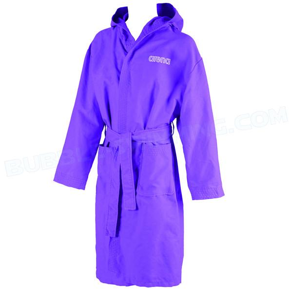Peignoir adulte zeal violet peignoirs de bain for Peignoir piscine