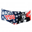 Maillot Homme Bandeau USA Want You